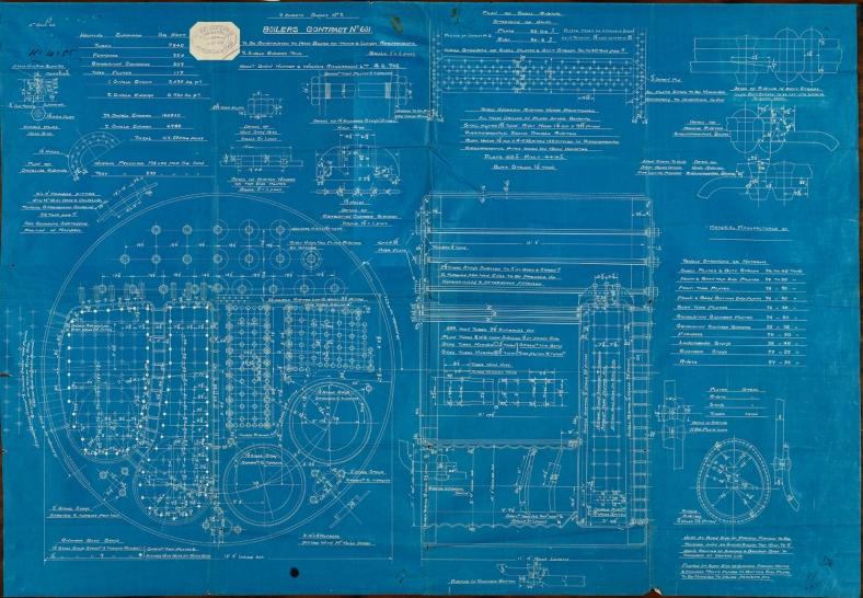 Mauretania boiler blueprint