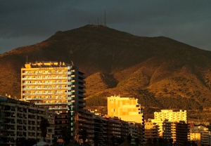 Sunset Fuengirola web